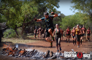 The finish line of the Spartan Super in Austin May 2014. My 2nd OCR race and first piece of 2014 Spartan Trifecta